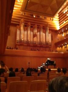 東京オペラシティ大ホール