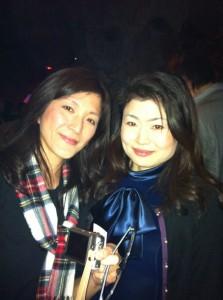ゲ音団、最後のパーティーで東野美紀さんとのツーショット